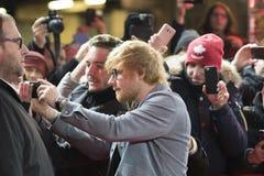 Ed Sheeran under den 68th Berlinale festivalen 2018 Royaltyfri Foto