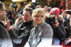 Ed Sheeran under den 68th Berlinale festivalen 2018 Fotografering för Bildbyråer