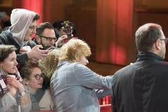 Ed Sheeran under den 68th Berlinale festivalen 2018 Arkivbild