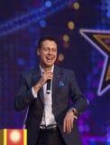 Ed Shulzhevskiy sing Royalty Free Stock Photos
