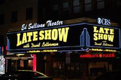 Ed Sullivan Theater Stock Images