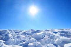 Edad de hielo Imagen de archivo libre de regalías