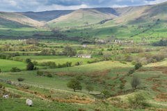 Edale valley Royalty Free Stock Photos