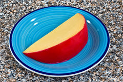 cheese on plate Royalty Free Stock Photo