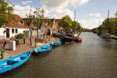 Edam cheese country netherlands. Holland dams on the North Sea land and sea Stock Photo
