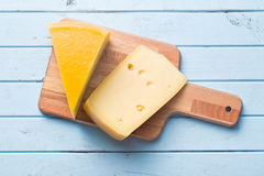 Edam cheese. Top view of edam cheese stock images