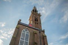 Edam della chiesa della st Nicolas, Paesi Bassi Fotografia Stock