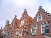 Edam. Typical architectures of Edam in Netherlands royalty free stock image