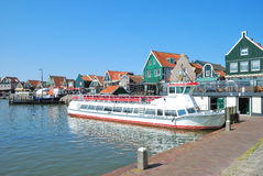 Edam-Volendam,Ijsselmeer,Netherlands Royalty Free Stock Photography