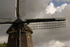 Edam windmills Royalty Free Stock Photos