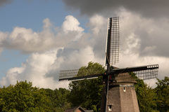 Edam windmills Royalty Free Stock Photography