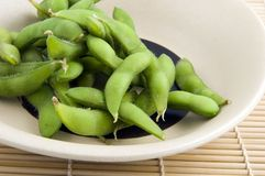 Edamame. Fresh Edamame ready to eat Royalty Free Stock Image