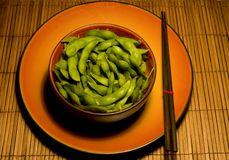Edamame C Royalty Free Stock Photo