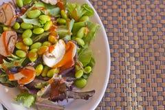 Edamame Salad Stock Image