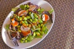 Edamame Salad Royalty Free Stock Images