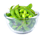 Edamame soy beans shelled Royalty Free Stock Images