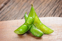 Edamame soybeans Stock Photography