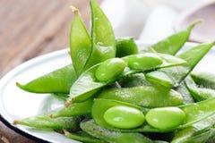 Edamame soybeans Stock Photo