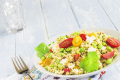 Edamame Tabbouleh Stock Photography
