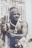 Eddie Aikau traditional hawaiian opening ceremony Royalty Free Stock Photo