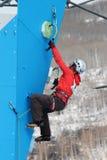 Eddie Bauer Mixed Climbing Stock Photo
