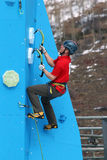 Eddie Bauer Mixed Climbing Stock Images
