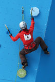 Eddie Bauer Mixed Climbing Stock Afbeelding
