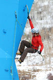 Eddie Bauer Mixed Climbing Royalty Free Stock Photography