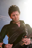 Eddie Duffy of Simple Minds, live concert Stock Image