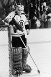 Eddie Johnston, Boston Bruins Royalty Free Stock Images