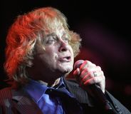 Eddie Money performs in concert. At the Seminole Hard Rock Hotel and Casino in Hollywood, Florida on March 13, 2011 stock image