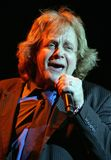 Eddie Money performs in concert. At the Seminole Hard Rock Hotel and Casino in Hollywood, Florida on March 13, 2011 stock photo