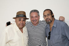 Eddie Montalvo and friends visit Yomo Toro Royalty Free Stock Photography