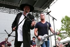 Eddie Montgomery, Troy Gentry Stock Photo