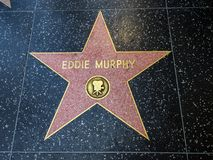 Eddie Murphy-` s Stern, Hollywood-Weg des Ruhmes - 11. August 2017 - Hollywood Boulevard, Los Angeles, Kalifornien, CA Lizenzfreies Stockfoto