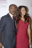 Eddie Murphy and Tracey Edmonds on the red carpet. Royalty Free Stock Photo
