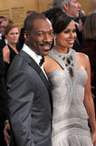 Eddie Murphy,Tracy Edmonds Stock Images