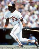 Eddie Murray. Baltimore Orioles slugger Eddie Murray. (Image taken from color slide Stock Photography
