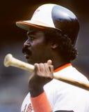 Eddie Murray. Baltimore Orioles slugger Eddie Murray. (Image taken from color slide Royalty Free Stock Photo