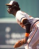 Eddie Murray. Baltimore Orioles slugger Eddie Murray. (Image taken from color slide Royalty Free Stock Images