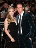 Eddie Redmayne,Amanda Seyfried Royalty Free Stock Photos