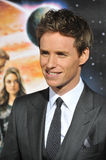 Eddie Redmayne. LOS ANGELES, CA - FEBRUARY 2, 2015: Eddie Redmayne at the Los Angeles premiere of his movie Jupiter Ascending at the TCL Chinese Theatre Stock Image