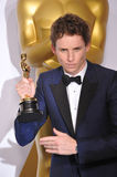 Eddie Redmayne. LOS ANGELES, CA - FEBRUARY 22, 2015: Eddie Redmayne at the 87th Annual Academy Awards at the Dolby Theatre, Hollywood Stock Photos