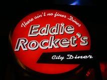 Eddie Rocket`s. A Eddie Rocket`s sign in Dublin Royalty Free Stock Photos
