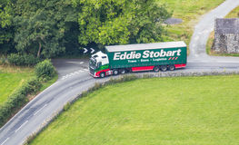 Eddie Stobart lastbil Fotografering för Bildbyråer