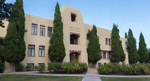 Eddy County Courthouse in Carlsbad New Mexico Royalty-vrije Stock Afbeelding