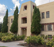 Eddy County Courthouse in Carlsbad New Mexico Royalty-vrije Stock Fotografie