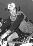 Eddy Merckx à la visite de recyclage de l'Italie Photos libres de droits
