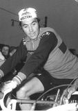 Eddy Merckx στο γύρο ανακύκλωσης της Ιταλίας Στοκ φωτογραφίες με δικαίωμα ελεύθερης χρήσης