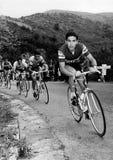 Eddy Merckx bij de het Cirkelen Reis van Italië Stock Afbeeldingen